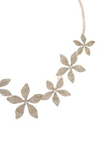 Accessorize Beth lily statement necklace