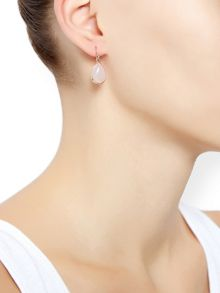 Accessorize Simple semi precious drop earrings