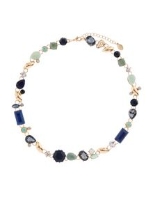 Accessorize Assorted jewels collar necklace