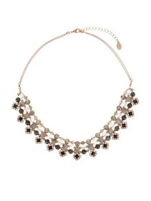 Accessorize Clarissa jewelled statement necklace