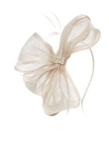 Accessorize Bella big bow on band fascinator