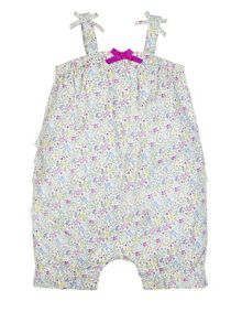 Monsoon Newborn Girl Millie Woven Romper