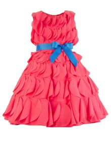 Monsoon Girls Jazzy Carmen Dress