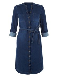 Monsoon Toyah Denim Dress
