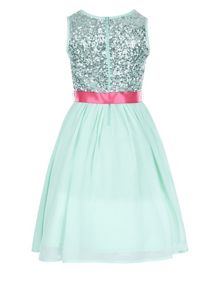 Monsoon Girls Edria Sparkle Dress