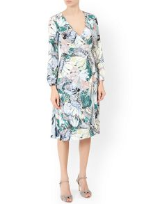 Monsoon Thea Wrap Dress