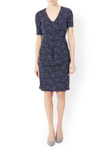 Monsoon Aimee Print Dress