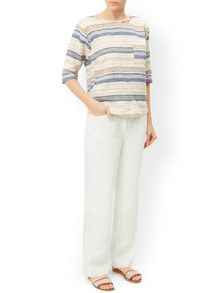 Monsoon Lola Regular Linen Trouser
