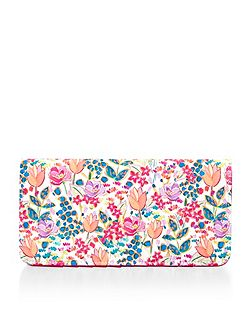 Accessorize Summer floral travel wallet