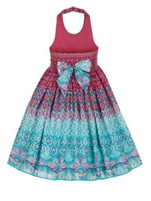 Monsoon Girls Ikaria Halter Dress