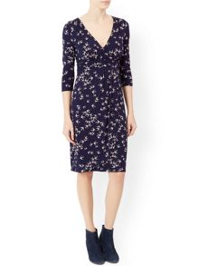 Monsoon Saskia Swallow Print Dress
