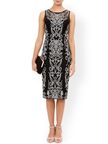 Monsoon Hana Embroidered Dress