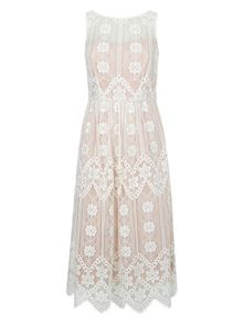 Monsoon Heather Lace Dress