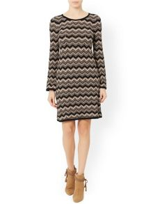 Monsoon Selina Zigzag Dress