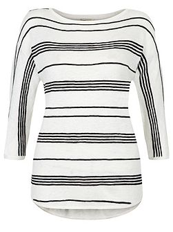 Estelle Linen Stripe Jumper
