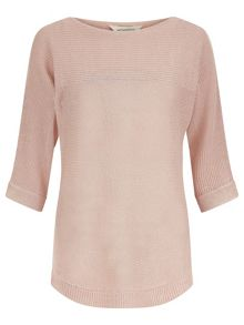 Monsoon Christy Linen Ottoman Jumper