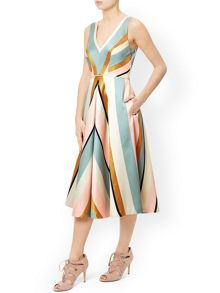 Monsoon Delilah Stripe Dress
