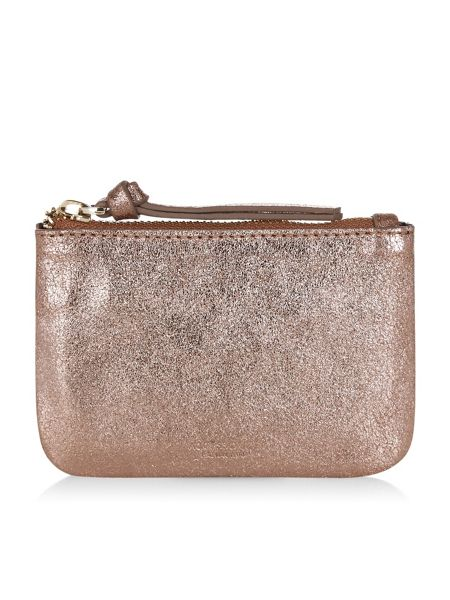 Accessorize Small leather coin purse