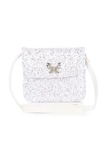 Monsoon Girls Glitter Butterfly Clasp Bag