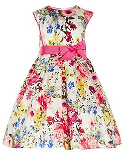 Girls Petunia Floral Dress