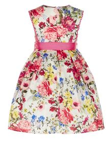 Monsoon Girls Petunia Floral Dress