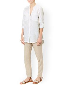 Monsoon Lotus Linen Shirt