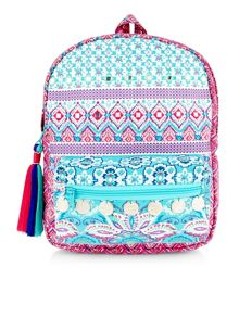 Monsoon Girls Ikaria Print Rucksack