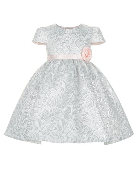 Monsoon Baby Girls Joyce Jacquard Dress