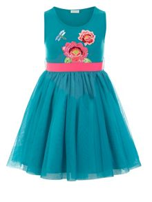 Monsoon Girls Hula Flower Dress