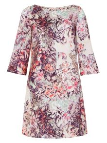 Monsoon Serena Print Tunic Dress