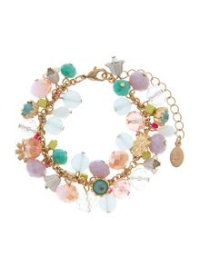 Accessorize Charmy beaded clasp bracelet