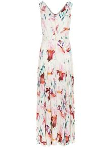 Monsoon Kate Print Maxi Dress