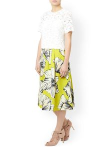 Monsoon Bella Olive Skirt