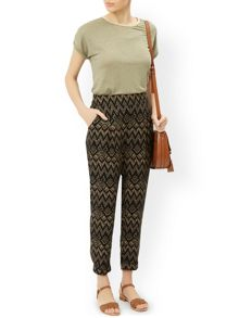 Monsoon Phoenix Print Soft Trouser