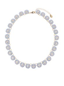 Accessorize Charlotte flower collar necklace