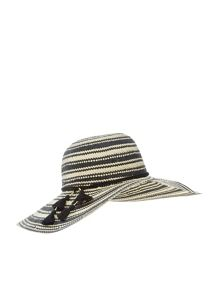 Accessorize Goddess geo tassle floppy hat