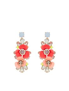 Accessorize Bethany statement flower earring