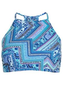Accessorize Havar print crop top