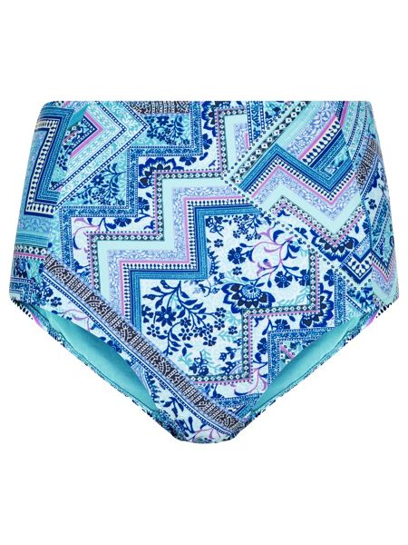 Accessorize Havar print high waisted bikini brief