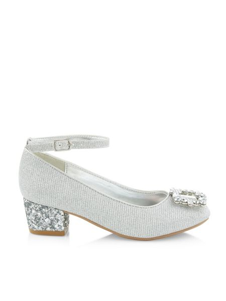 Monsoon Girls Diamante Charleston Shoe