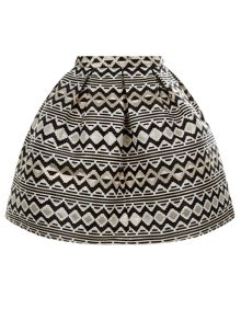 Monsoon Girl Savannah Jacquard Skirt