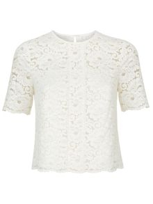 Monsoon Kim Lace Top