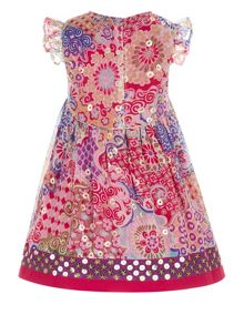 Monsoon Baby Girl Jaipur Sequin Dress