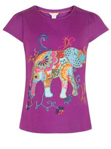 Monsoon Girl Effie Elephant Top
