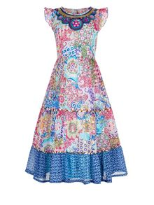 Monsoon Girl Jaipur Cape Dress