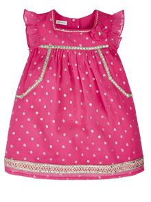 Monsoon Baby Girl Amari Spot Dress