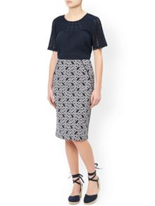 Monsoon Mariah Cutwork Top