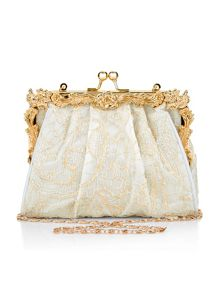 Monsoon Girls Ornate Frame Lace Bag