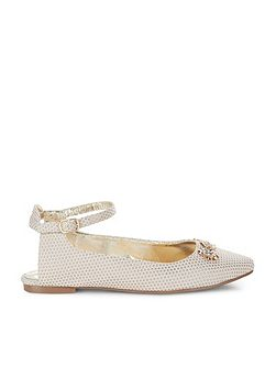 Girls Storm Sling Back Almond Toe Shoe