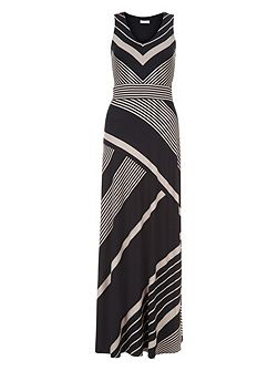 Melinda Maxi Stripe Dress
